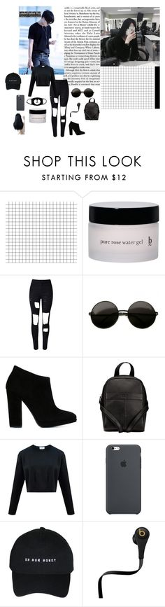 """""""J-Hope/ Hoseok: Aye are you happy I am happy yeah Every morning that I open my eyes it feels like a dream~ I think the brightly shining sun is for me Today undoubtedly starts with you like all of my days"""" by taejin-seokhyung ❤ liked on Polyvore featuring Henri Bendel, WithChic, Giuseppe Zanotti, O.S.P Osprey, Beats by Dr. Dre and Kenzie"""