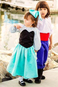 Little Mermaid inspired 3 pc Kiss the Girl by ChloeMichellesCloset, $45.00