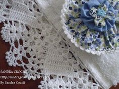 This Pin was discovered by Jo Diy Crafts Crochet, Crochet Art, Love Crochet, Beautiful Crochet, Irish Crochet, Hand Crochet, Crochet Projects, Stitch Crochet, Crochet Lace Edging