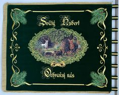 An Embroidered Banner for a Hunting Association from Zakamenné (Slovakia)