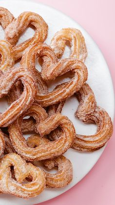 Show your love with these heart-shaped churros