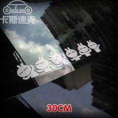 Online Shop 2014 new car styling stickers decoration accessories auto tail & body Tuzki sticker for Toyota Hyundai skoda kia nissan Peugeot|Aliexpress Mobile