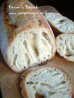 *****(簡単)フランスパンの作り方、バゲット、気泡のあるフランスパンの作り方、ミニバゲット作り方*****