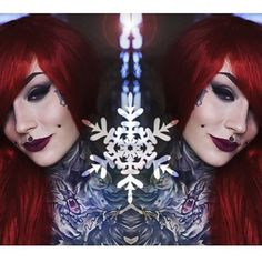 Image of Ariel, Little Mermaid Red Long Straight Gothic Lolita Cosplay Wig Lolita Cosplay, Monami Frost, Girl Tattoos, Tattoo Girls, Cosplay Wigs, Woman Crush, Gothic Lolita, The Little Mermaid, Halloween Face Makeup