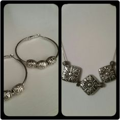 Silver plated 2 piece set