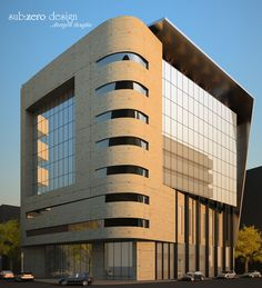 Concepts for an office building design. Which one do you like best?