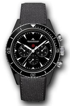 Jaeger-LeCoultre Deep Sea Chronograph Cermet | Perpétuelle