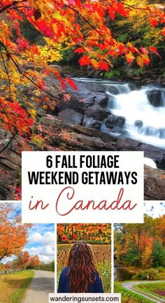 6 Fall Foliage Weekend Getaways in Canada. Here are some of our favorite fall weekend getaways in Canada to make sure you catch those prime foliage viewing locations. Canada Weekend Getaways Fall | Weekend Getaways in the Fall | Best Fall Weekend Getaways | Canada Fall | Weekend Trips, Weekend Getaways, Visit Vancouver, Canada Destinations, Day Hike, Outdoor Adventures, Canada Travel, Outdoor Travel, Cool Places To Visit
