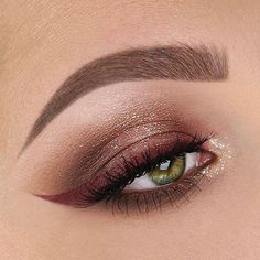 Neutrals have never looked better! Loving this burgundy liner & our #Iconiclashes by @taniawallerx3! ✨  Repost: Product deets:  @benefitcosmetics precisely, my brow pencil in shade 3  @anastasiabeverlyhills clear brow gel  @maccosmetics soft ochre paint pot  @tartecosmetics maneater eyeshadow palette  @tartecosmetics tarteist lip paint in killin' it for winged liner  @urbandecaycosmetics heavy metal glitter liner in midnight cowboy  @makeupforeverofficial aqua XL liner in D-62…