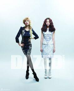 KARA's Nicole & Seungyeon