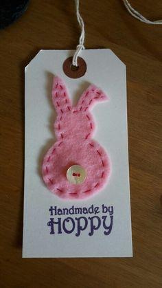 Handmade by Hoppy - gift tag