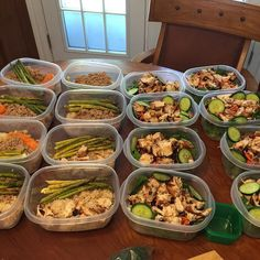 Lunch and dinner ready for the week! #MealPrep time 2 hours. Getting in a grove! #CleanEating #Fresh #AllNatural #HealthyEating #FitLife #FitFam #FoodPorn #MealPrepSunday #Fitness #Progress #Motivation by xtremelivin4life
