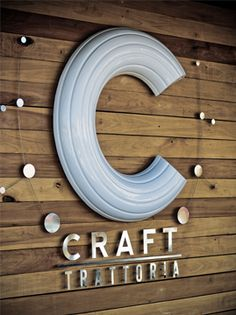 Craft Restaurant, interior design by Egg Designs. Quirky family Trattotia with a contemporary warm interior.