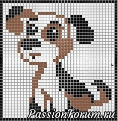 Patterns of dogs, hares and kittens for embroidery – Animals – Patterns of weaving with beads – Treasury of articles – Weaving of beads with ornaments, trees and flowers, patterns mk: Cross Stitch Bookmarks, Cross Stitch Cards, Cross Stitch Animals, Cross Stitching, Cross Stitch Embroidery, Knitting Charts, Baby Knitting Patterns, Cross Stitch Designs, Cross Stitch Patterns