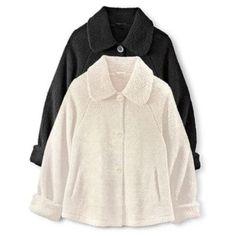 JESSICA®/MD Faux Lambs Wool Swing Coat - Sears | Sears Canada