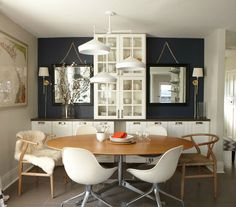 small dining room 14. For tiny dining rooms, go with an oval table to hold the space from seeking overly crowded. Round tables aren't for tiny spaces as it limits the way targeted traffic can flow around the area.