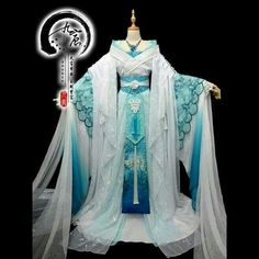 I wanna try wearing something like this so bad! Traditional Fashion, Traditional Dresses, Dress Outfits, Cool Outfits, Fashion Outfits, Pretty Dresses, Beautiful Dresses, Fantasy Dress, Chinese Clothing