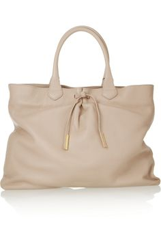 ++ BURBERRY PRORSUM / Textured-leather tote