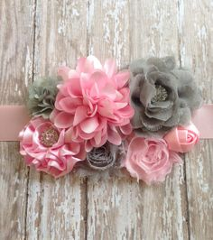 Sweet PINK and Grey Maternity by handmadewithlove4you on Etsy, $25.99