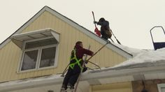 Professional roof cleaners in Edmonton have been kept busy by the fluctuating temperatures and heavy snow this winter.CBC News Interviews General Roofing Systems Foreman in Edmonton Shane Leblanc about Roof Ice Dams and Roof Snow Removal | +1.877.497.3528 www.grscanadainc.com info@grscanadainc.com