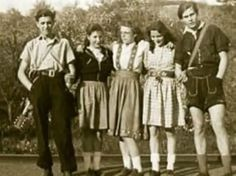 Edelweiss Pirates emerged from the swing kids and resisted the Nazi regime in Germany, often clashing with Hitler Youth and Gestapo. Their style took cues from the American swing movement, but was married to German folklore. Lederhosen was a central part of their look and they hated seeing their heritage maligned by the regime. Romanticized living off grid. Rebelled as only youth can.