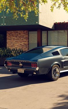 Ford Mustang Classic, Ford Mustang 1967, Ford Mustang Fastback, Fancy Cars, Retro Cars, Vintage Cars, Old Muscle Cars, American Muscle Cars, Ford Mustang Wallpaper
