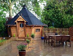 Medium BBQ Cabins 10m² Barbecue Hut - Arctic Cabins