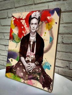Poster / Quadro A4 Frida Kahlo