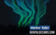 Create a Dazzling Aurora Borealis - Screencast - Tuts+ Design & Illustration Article