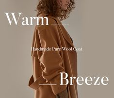 FRONTROW HANDMADE PURE WOOL COAT. Web Design, Layout Design, Fashion Graphic Design, Graphic Design Inspiration, Typography Design, Lettering, Creative Instagram Stories, Clothing Photography, Instagram Design