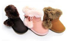 正版韓國童鞋.嬰兒鞋..-兒童雪靴