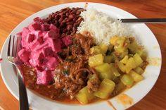 soda rustico carne en salsa casado   - Costa Rica