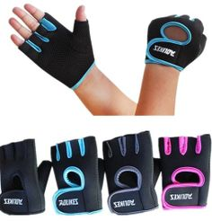 Womens MANS Weight Lifting Gloves Fitness Glove Gym Exercise Training 9118