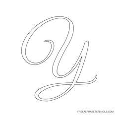elegant cursive alphabet stencils in printable format free printable stencils com large alphabet stencils