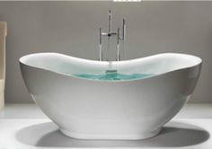 Bathroom Faucets Orlando orlando acrylic modern bathtub 69 | modern bathtubs | pinterest