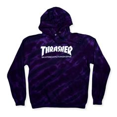 Designer Clothes, Shoes & Bags for Women Cute Comfy Outfits, Dope Outfits, Tee Shirt Trasher, Thrasher Outfit, Tie Dye Tops, Trendy Hoodies, Tie Dye Hoodie, Teenager Outfits, Sweater Jacket