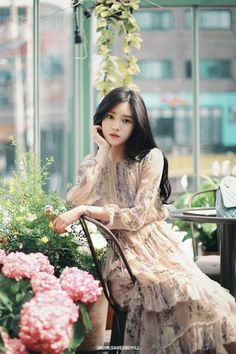 15 Best Ideas For Fashion Korean Dress Ulzzang Korean Fashion Dress, Korean Dress, Asian Fashion, Trendy Fashion, Fashion Models, Girl Fashion, Fashion Outfits, Fashion Trends, Classy Fashion