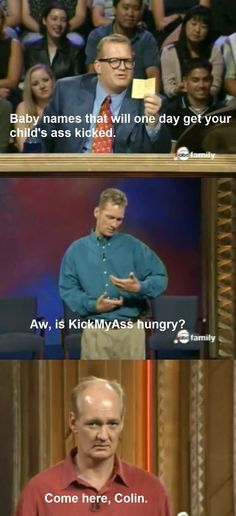 Whose Line Is It Anyway - Click image to find more Geek Pinterest pins | See more about whose line, names and geeks.
