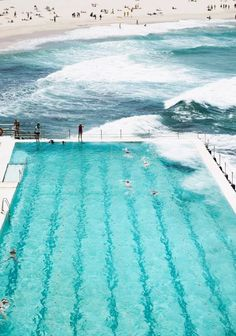 Bondi Beach, Icebergs Pool. Sydney Australia