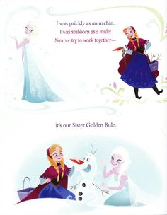 FROZEN- Sister Book