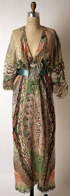 Dress  Zandra Rhodes, 1975  The Metropolitan Museum of Art