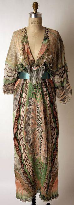 Dress  Zandra Rhodes, 1975  The Metropolitan Museum of Art