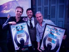 A golden record in the US for 'This Is What It Feels Like' - Armin van Buuren