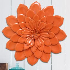 Found it at Wayfair - Layered Flower Wall Décor