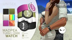 Turbo 12000 Unisex Watch 12K Members Group Gift by MadPea