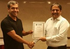 Congratulations to Super Amazing Milind Kher - Being awarded the Prestigious NLP Practitioner certificate  NLP Training from Anil Dagia - India's Most Innovative NLP Trainer  Attend the next ICF + NLP Dual Certification Life Coach Training in Mumbai (India) - 9 May :- http://www.anildagia.com/events/256
