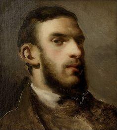 Camille Pissarro · Autoritratto · 1852 · Staatlichen Kunsthalle · Karlsruhe