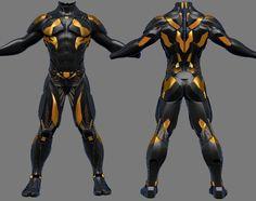 Suit SciFi by Sidimention