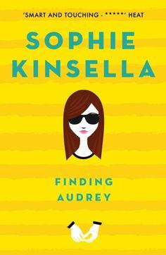 Finding Audrey - Sophie Kinsella, UK pb redesign