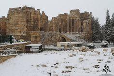 Have a White beautiful Morning from Baalbeck  #Lebanon #WeAreLebanon